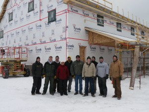 Bay Cliff Exterior Group Photo