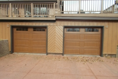 Siding-garage doors